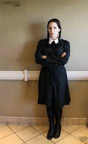Wednesday Addams Costume Wednesday Addams Addams Family The By Carrousel Acparadise Com