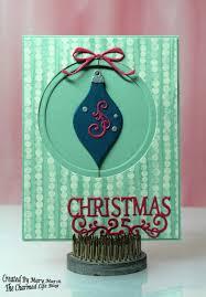 cottageblog suspended spinner ornament card