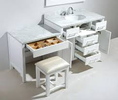 makeup vanity with sink makeup vanity with sink double sink bathroom vanity with makeup area