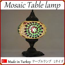 Mosaic Table L House Rakuten Global Market Made In Turkey Mosaic Ls