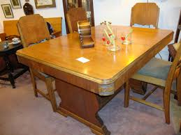 refinished 1940 u0027s art deco dining table u2013 collectors two