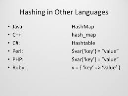 ruby hash map cs503 thirteenth lecture fall 2008 hash tables michael barnathan