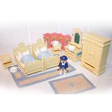 chambre parents playmobil chambre 1900 des parents beige play original