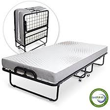 What Are The Dimensions Of A Twin Bed Amazon Com Milliard Premium Folding Bed With Luxurious Memory
