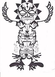 totem pole tattoo art by allua808 on deviantart