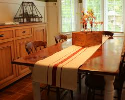 easy grain sack table runner tutorial new house new home