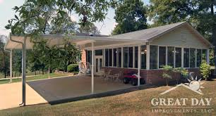 Patio Covers Ideas And Pictures Patio Cover Designs Ideas U0026 Pictures Great Day Improvements