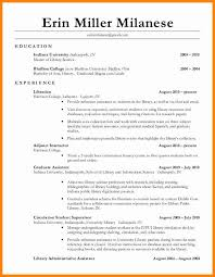 11 library resume how to make a cv