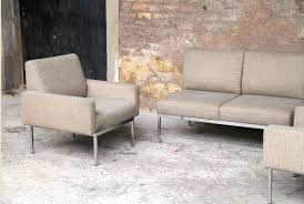 ensemble canap et fauteuil canape et fauteuil best canap places en microfibre aspect cuir