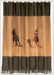 Western Style Shower Curtains Style Shower Curtains