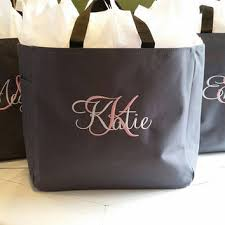 personalized bags for bridesmaids shop personalized wedding gift bags on wanelo