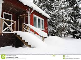 Small Country House Small Country House In Finland Royalty Free Stock Photo Image