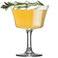 retro martini cocktail glasses handmade designer glassware urban bar us