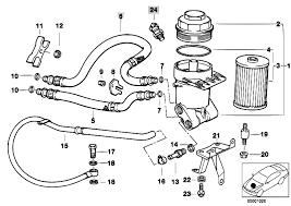 original parts for e39 540i m62 touring engine lubricat syst