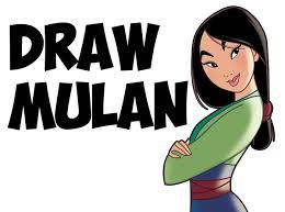 mulan characters archives draw step step drawing tutorials