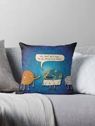 Saturn Meme - earth and saturn meme throw pillows by ricemann redbubble
