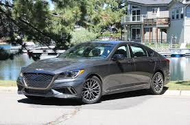 the road beat 2018 genesis g80 sport the best gets even better