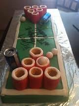 beer pong bachelor cake ideas 19037 beer pong table cake e