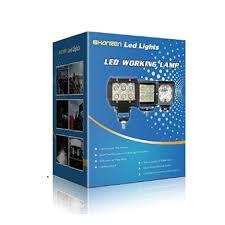 Damega Light Bar by Amazon Com 27w Round Led Work Light Lamp Off Road High Power Atv