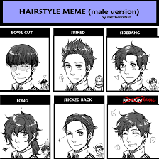 Spain Meme - hairstyle meme male version spain by hime1999 on deviantart
