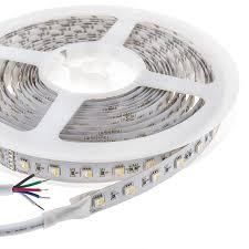 waterproof led ribbon lights rgbw super bright 4 colors in 1 series dc12 24v 5050smd 480leds