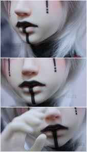 Baby Doll Halloween Makeup by Best 25 Doll Makeup Ideas Only On Pinterest Baby Doll Makeup