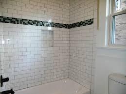 Subway Tiles Bathroom White Subway Tiles Subway Tile Backsplash View Full Size White