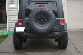 Rugged Ridge Tire Carrier Questions On Rugged Ridge Xhd Rear Bumper Install