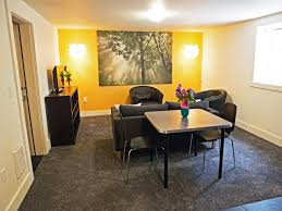 How To Decorate Your Apartment On A Budget by Design A Basement Apartment Hgtv