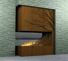 modern fireplaces nice contemporary wooden fireplace one total