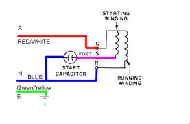 single phase induction motor wiring help needed