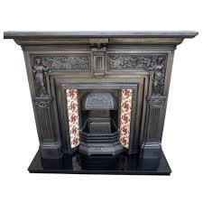 classic victorian cast iron fire surround stovax insert