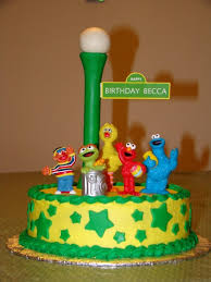 sesame street 1st birthday cake ideas archives party themes