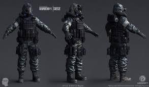 could we get the article 5 hazmat suit as a uniform rainbow6
