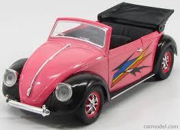 volkswagen beetle pink solido 8302 scale 1 18 volkswagen beetle coccinelle cabriolet