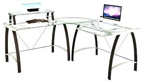 l shaped computer desk target glass l desk target glass desk medium size of l shaped glass desk