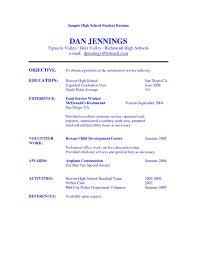 resume templates high school resume high school graduate exles resume