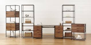 High End Home Office Furniture Modular Office Furniture Crate And Barrel