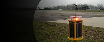 Solar Powered Runway Lights by Carmanah Solar Lighting Solutions For Infrastructure