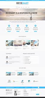 free online home page design revenant template home page leiaute pinterest template