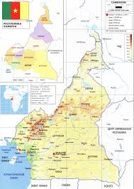 Map Of Cameroon Cameroon