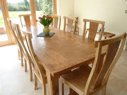 Big Dining Room Tables Large Oak Dining Table Seats 12 Home Design And Decor
