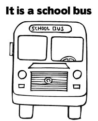 great transportation bus coloring page transportation