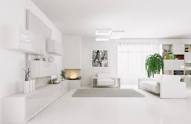 white style interior decoration effect 50501 building home