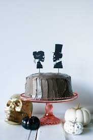 diy skeleton silhouette cake toppers salty canary