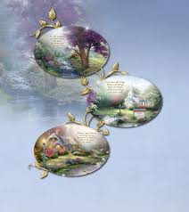 kinkade personalized collector plate collection by the
