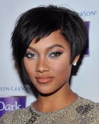 hairstyles for ladies who are 57 24 best short hairstyles for black women images on pinterest