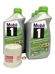 nissan canada oil change nissan mobil 1 0w 20 full synthetic fuel saver oil change kit