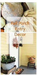 fall entryway bees in a pod porch entry collage idolza