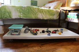 diy under bed lego table creating your space